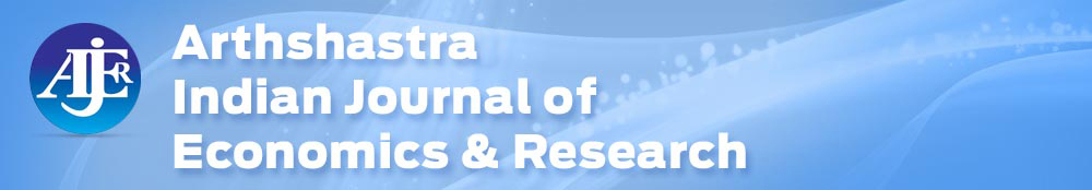 Arthshastra Indian Journal of Economics & Research
